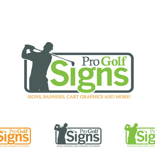 Help Pro Golf Signs with a new logo