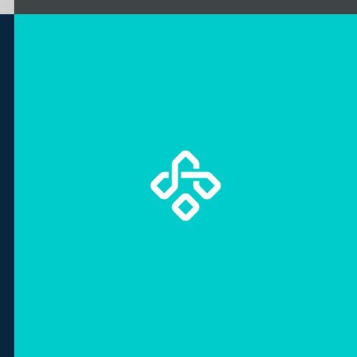 logo design elegant technology