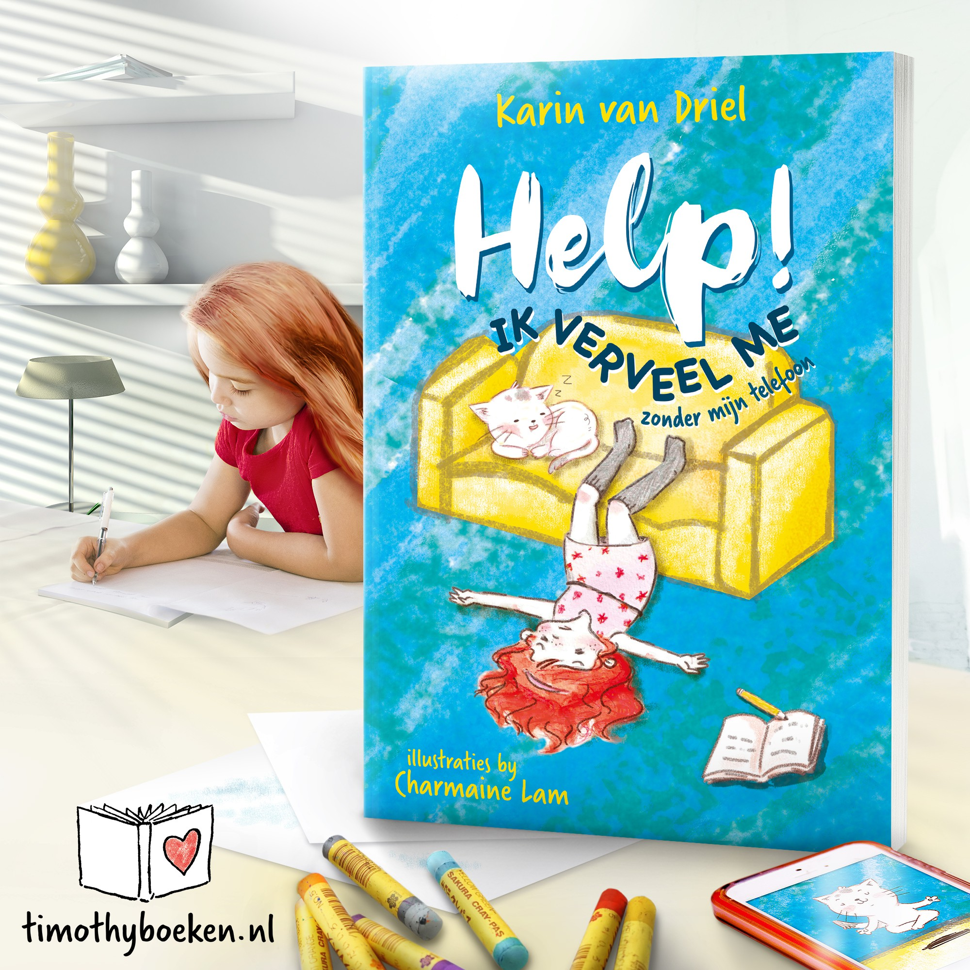 "Image for website about ""Help! Ik verveel me"""
