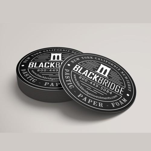 Design a coaster / sticker for a recycling company