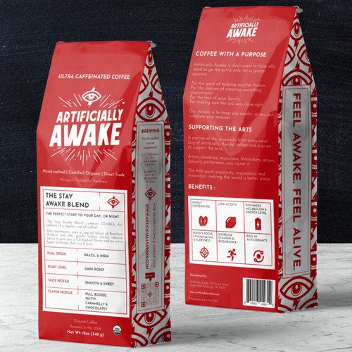 Articially Awake Coffee