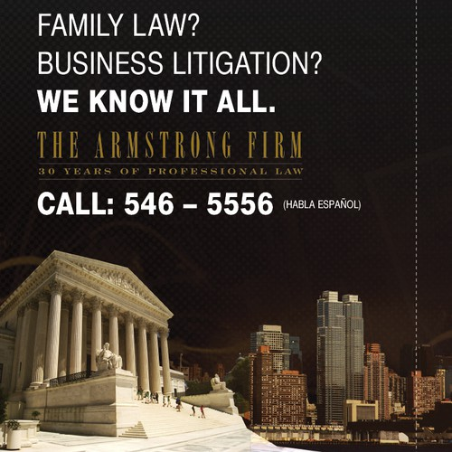 The Armstrong Firm: Phone book Ad