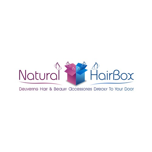 logo for Natural Hair Box