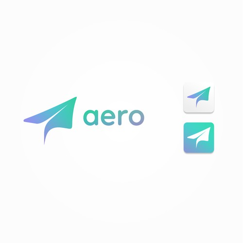 Imaginative and colorful logo for tech startup