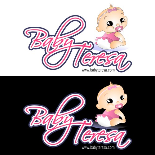 Logo and packaging design for babywear