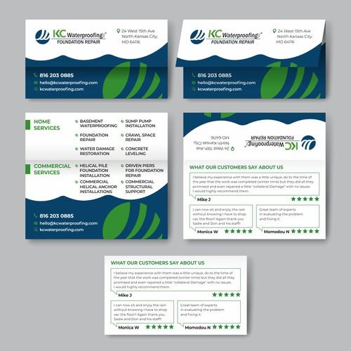 Vizitcard for Foundation Repair Company
