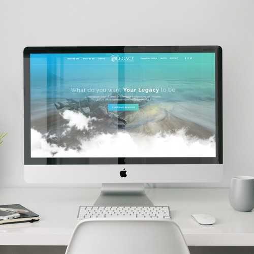 Web Design for Financial Planning Company