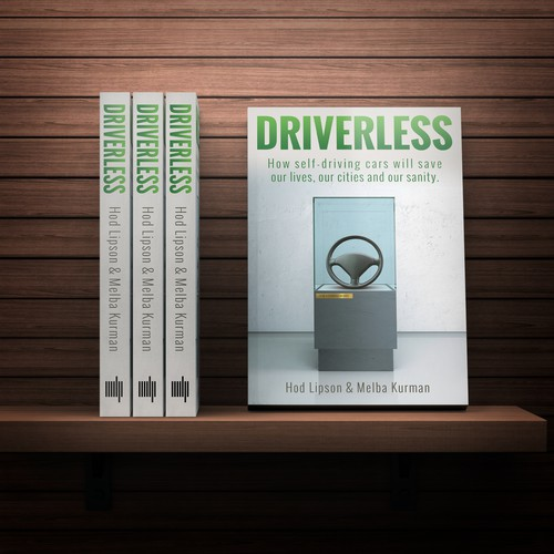 Cover concept for a book on autonomous cars