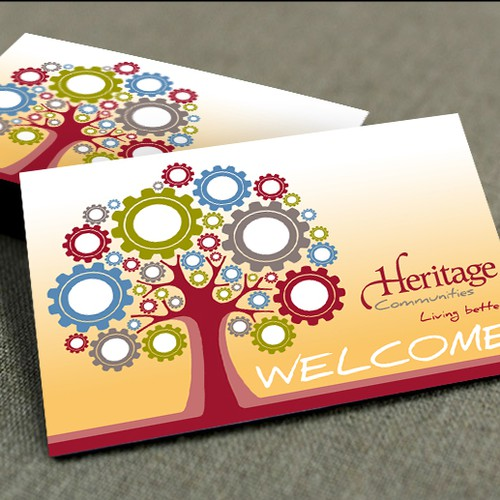 Create Unique Welcome Card