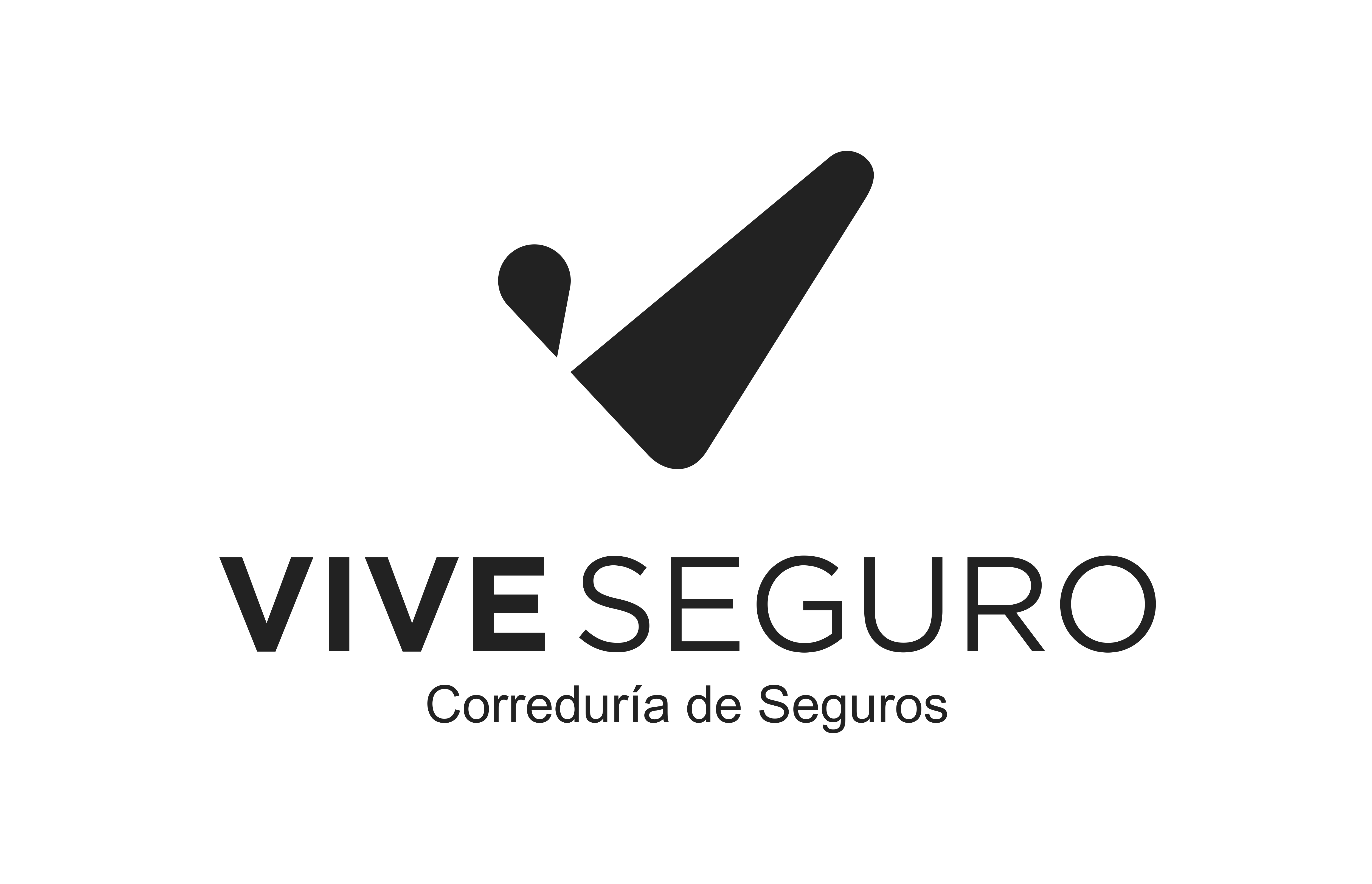 Diseña un mundo seguro: LOGO VIVE SEGURO