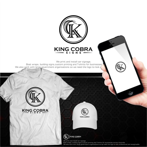 King cobra signs