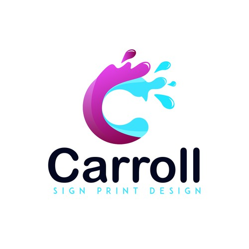 Design a sharp logo for a sign print & design company!