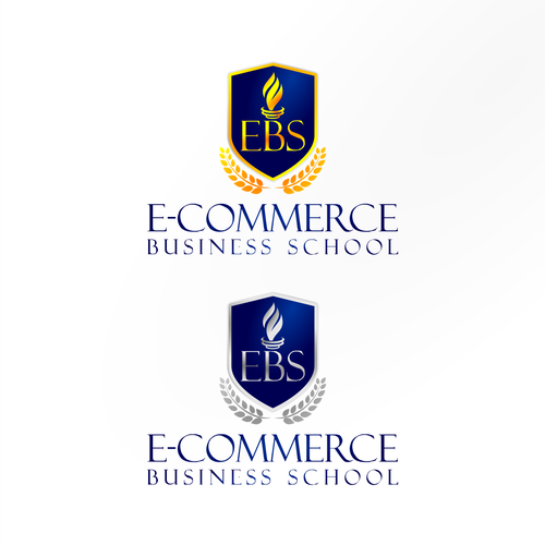 shield and torch for business school