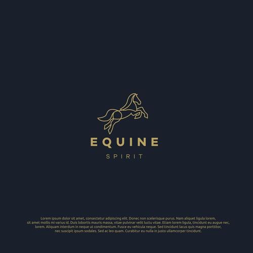 logo concept for Equine
