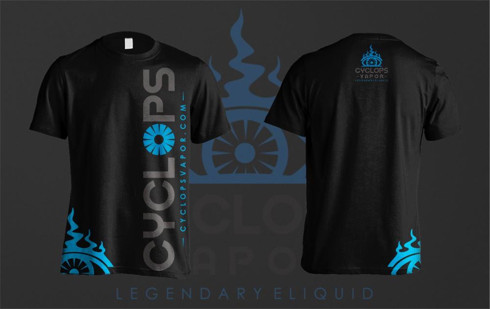 Shirt Design - Cyclops Vapor