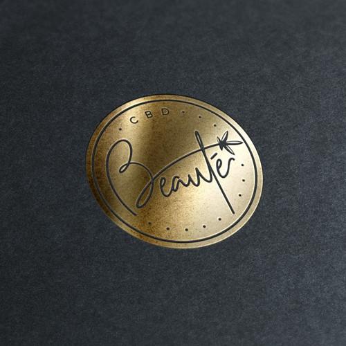 Beauté - Logo for Hemp CBD Beauty Company!