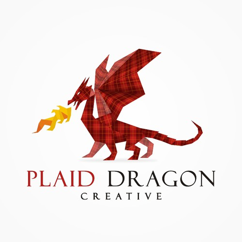 PLAID DRAGON CREATIVE needs a new logo