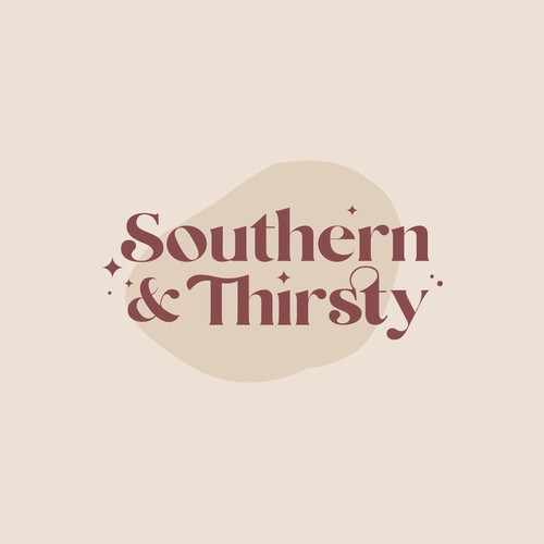 Concept logo for Southern & Thirsty