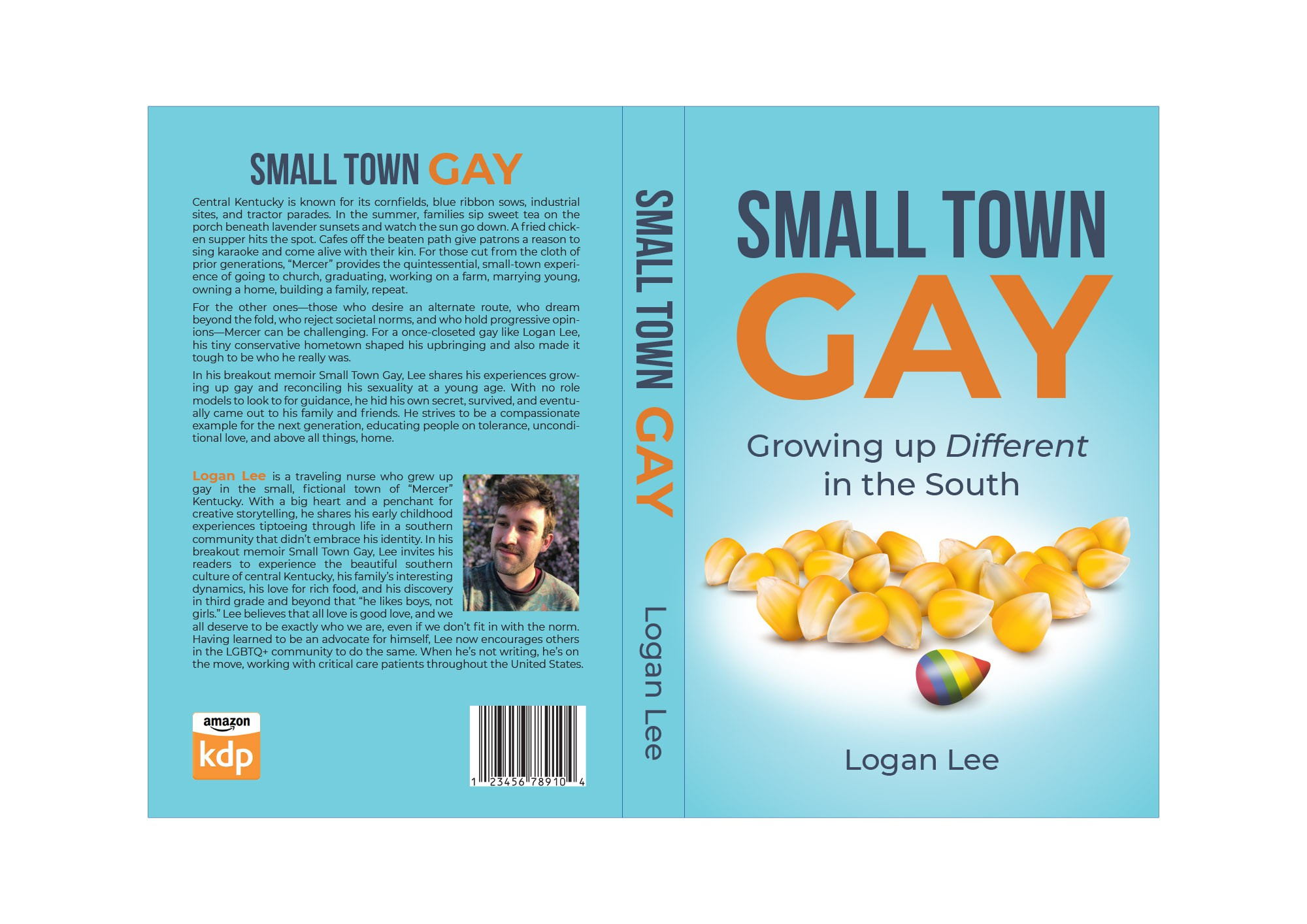 Humorous memoir about growing up gay in the southern US