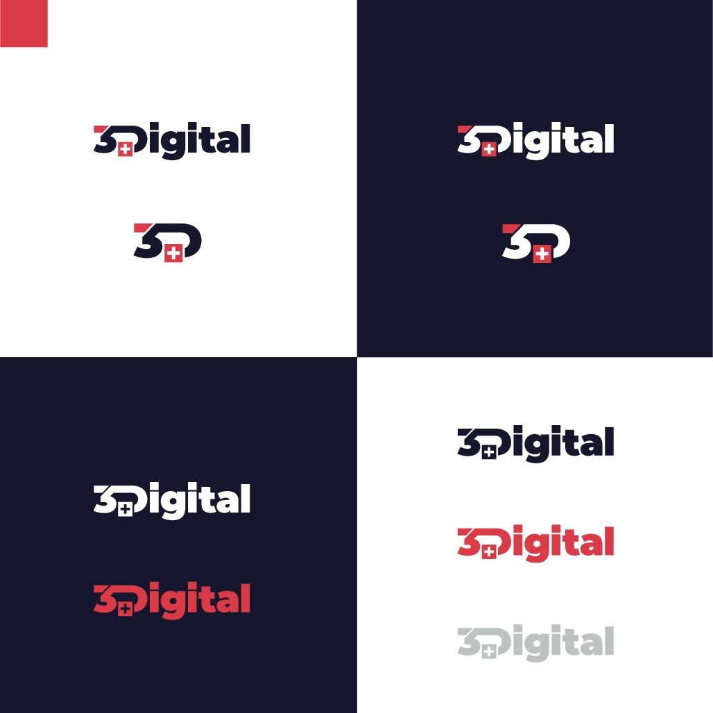 Compelling LOGO for a newly created 3D modeling / AR / VR company