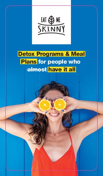 Eat me Skinny (Detox Programs & Meal Plans) business card design!!!