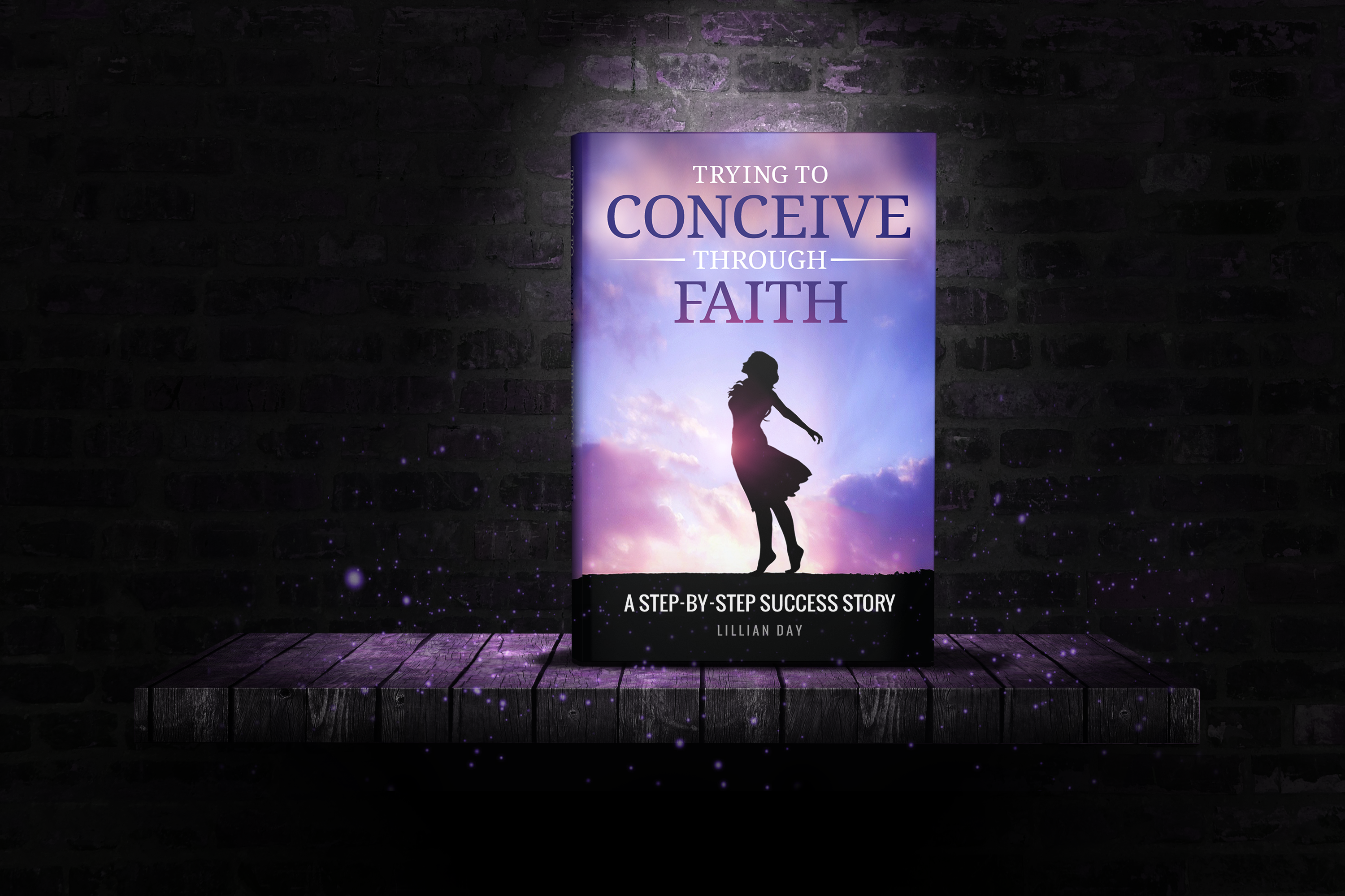 Design An Eye Catching Book Cover for Christian Infertility Book