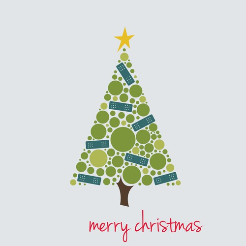 Christmas e-card design for leading Australian charity