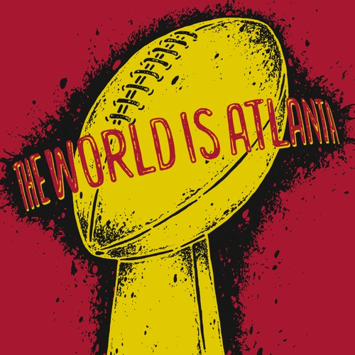 T-shirt design involving Super Bowl and Atlanta