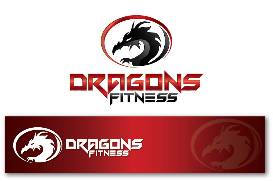 Create the next logo for Dragons Fitness
