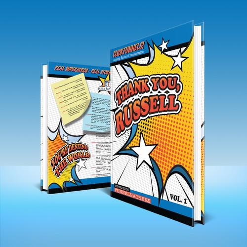 Fun and Bold Book Cover Design