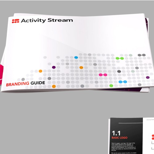 Sleek & Modern Brand Guidelines for Activity Stream