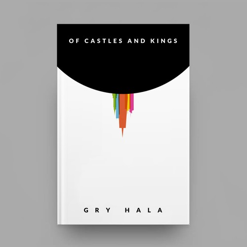 Minimal Crime Novel Book Cover