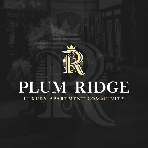 Luxury apartments logo design