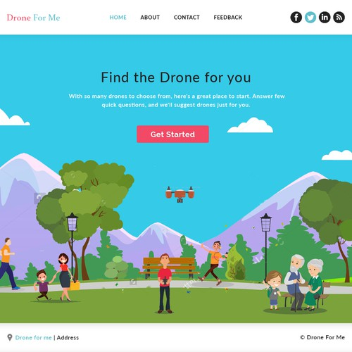 Drone for me Ecommerce