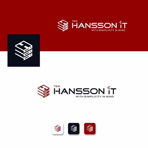 server logo concept for IT company