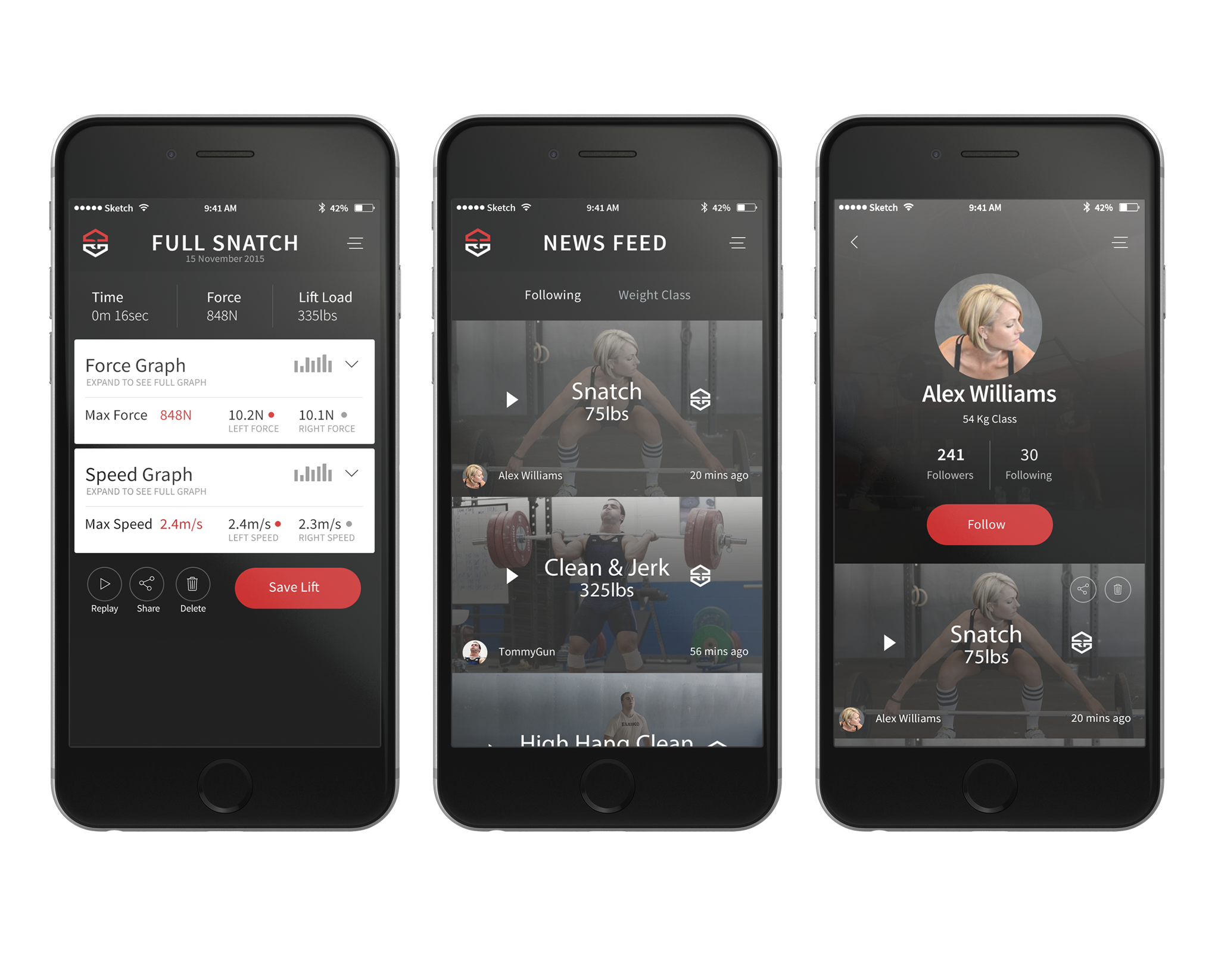 Olympic Lifting Technology Needs a Mobile-App Design