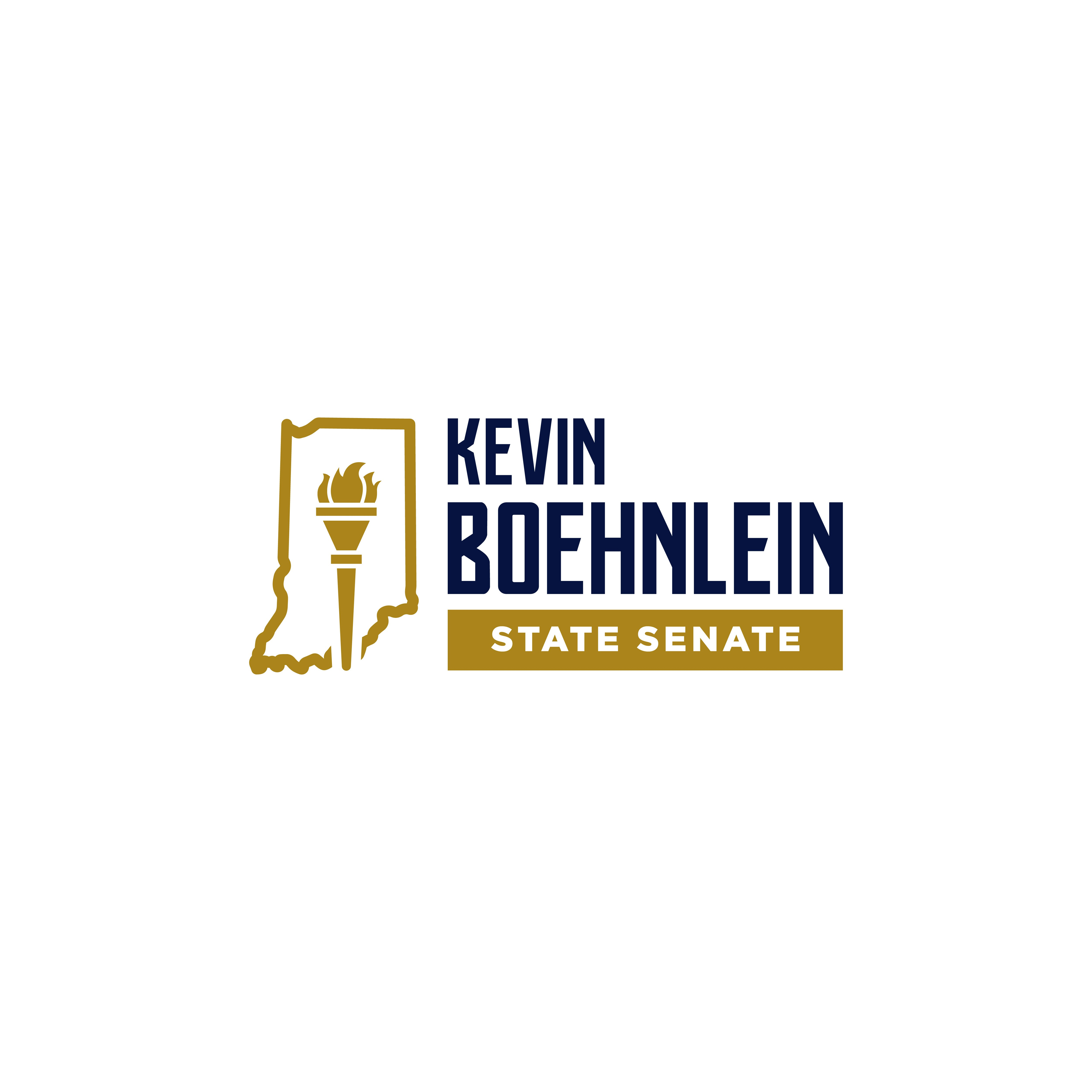 Clean design with touch of personality to appeal to Indiana voters