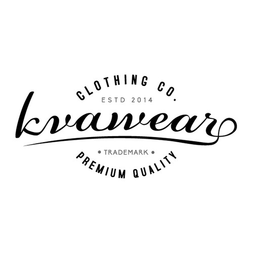Create a young, modern, simple look to this new and upcoming casual clothing company!