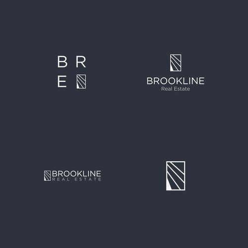 Brookline Real Estate logo.