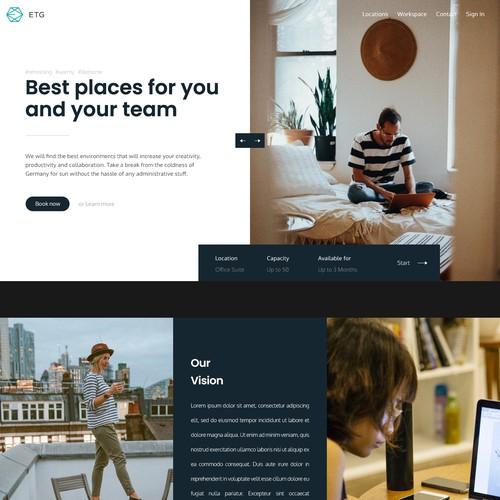 Slide website