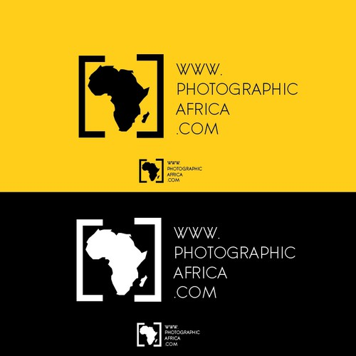 Create a vintage logo for a african photographic blog