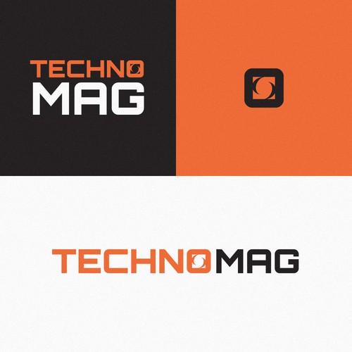 Techno Mag Logo Concept