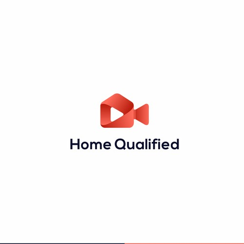 logo concept for home qualified