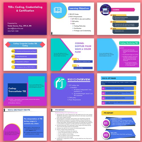 Pitch deck design for national conference