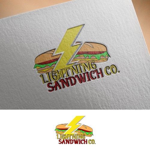 Logo concept for Sandwuch shop