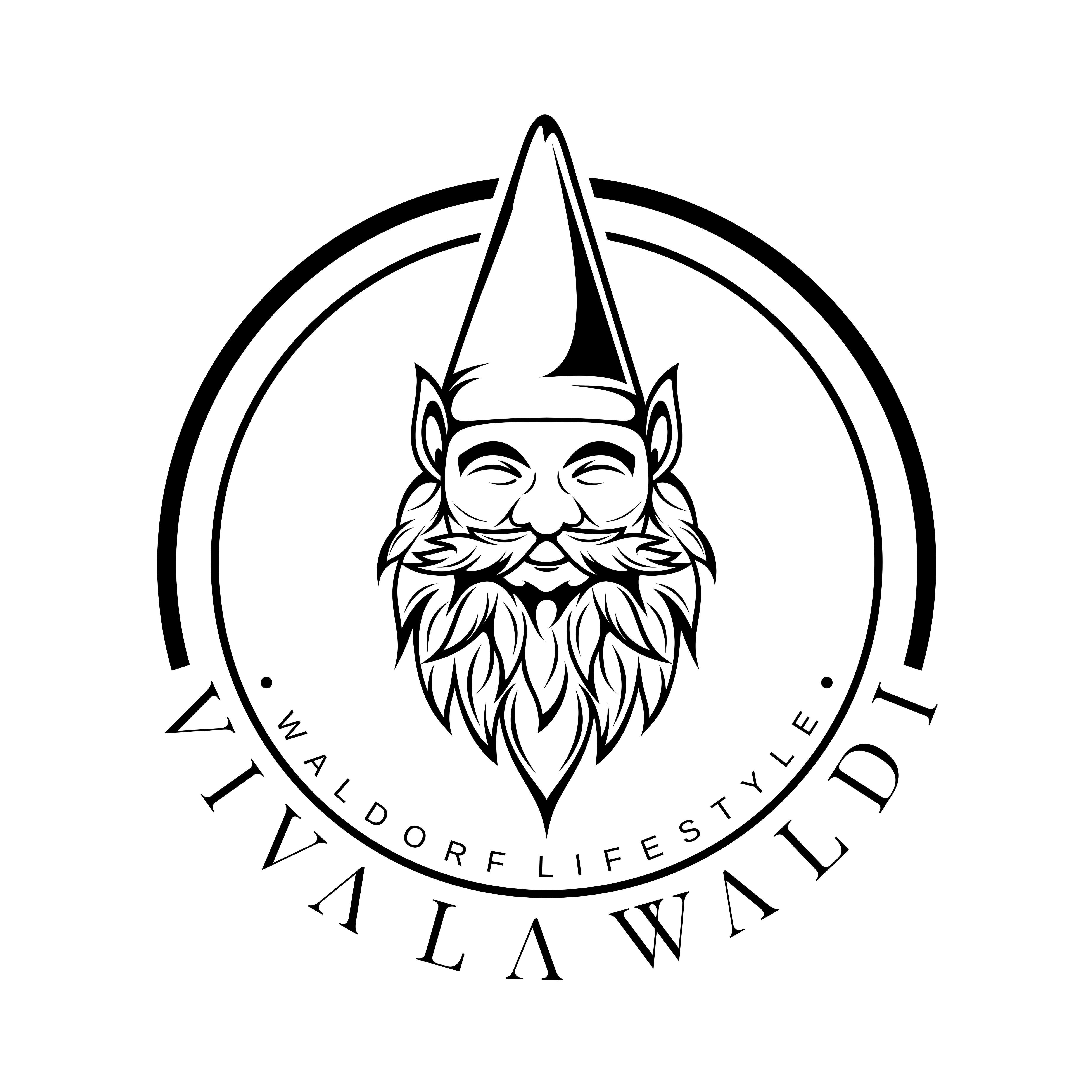 Create a beautiful gnome logo for a fashion brand