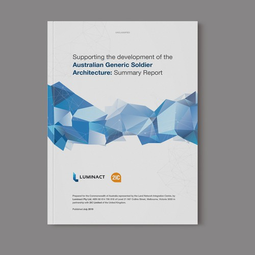 Supporting the development of the Australia Generic Soldier Architecture: Summary Report
