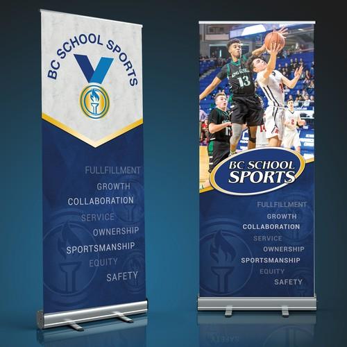 Pull up banner design