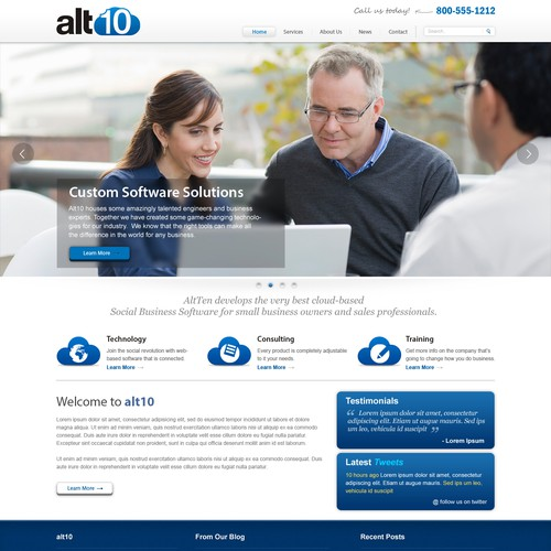 Website Design for Alt10
