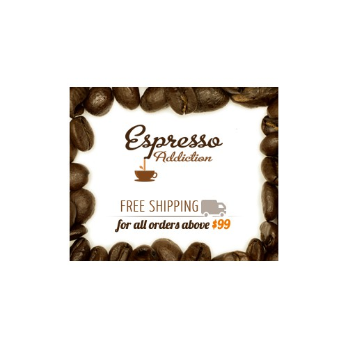 Help Espresso Addiction with a new banner ad